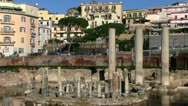 Stock Video Footage of Italy - Campania - Macellum of Pozzuoli