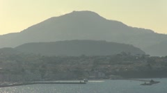 Italy - Campania - View on Procida and Ischia Stock Footage