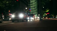 Potsdamer place night Stock Footage