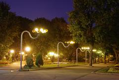 Stock Photo of evening park