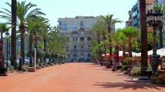 Lloret de Mar, Costa Brava in Spain Stock Footage