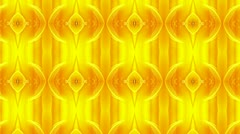 Orange orb Glass Background - stock footage
