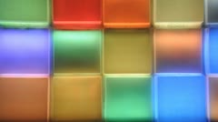 Colorful light - stock footage
