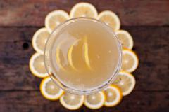 Lemon martini Stock Photos