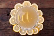 Stock Photo of lemon martini