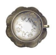 nostalginen teekuppi ja lautanen - stock photo