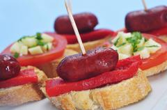 Stock Photo of spanish pinchos