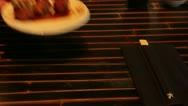 Fried chicken balls Stock Footage