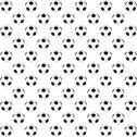 Black and white soccer ball Stock Illustration