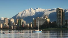 English Bay 5 Stock Footage
