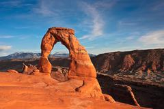 Delicate Arch Sunset.jpg - stock photo