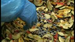 Zucchini Stock Footage