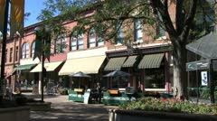 Fort Collins shops Stock Footage