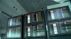 Airport terminal#2.mxf Stock Footage