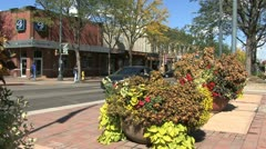 Fort Collins street 4 Stock Footage