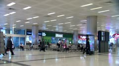 Airport terminal.mxf Stock Footage