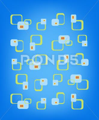 Stock Illustration of vintage pattern