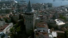 Aerial view of Istanbul - stock footage