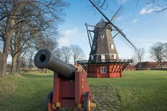 kastellet fortress in copenhagen - stock photo