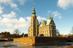 Stock Photo of rosenorg castle
