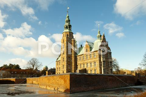 Stock photo of rosenorg castle