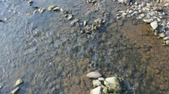Pure stream - stock footage