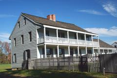 Stock Photo of revolutionary war historic house