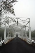 Old single lane bridge Stock Photos