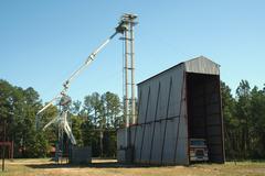 Peanut processing plant Stock Photos