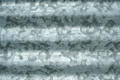 Corrugated sheet metal Stock Photos