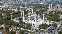 Aerial view of Istanbul#1 Stock Footage