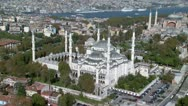 Stock Video Footage of Aerial view of Istanbul#1.mxf
