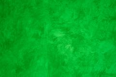 green faux painted wall - stock photo