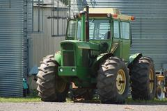 farm tractor - stock photo