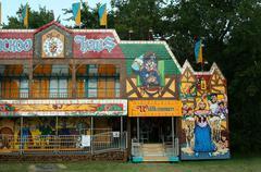 Stock Photo of fun house