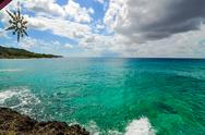 Stock Photo of Clear Turquoise Caribbean Water