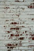 rustic brick wall - stock photo