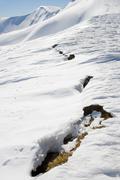future avalanche signs - stock photo
