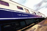 Stock Photo of san francisco train vintage