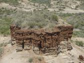 Stock Photo of olduvai gorge detail