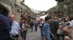 Exterior grand bazaar , Stock Footage