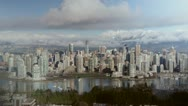 Stock Video Footage of Downtown Vancouver. Timelapse.