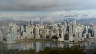 Downtown Vancouver. Timelapse. 720P. Stock Footage