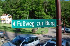 Stock Photo of Fussweg zur Berg