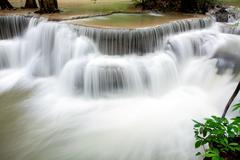 Stock Photo of waterfall flowing