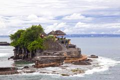 Tanah lot temple bali Stock Photos