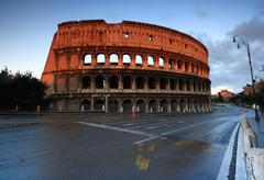 Colosseum rome italy Stock Photos