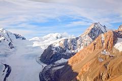 mountain cook new zealand - stock photo