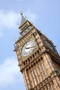Close up of big ben Stock Photos