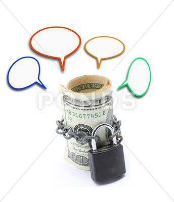 Stock photo of money saving insurance concept